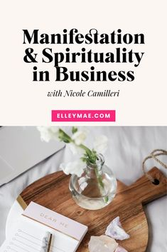 How to tap into your intuition, and use spirituality in your business as a female entrepreneur. #SpiritualBusiness #BusinessMindset