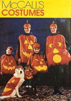 pumpkin costume patterns for adults