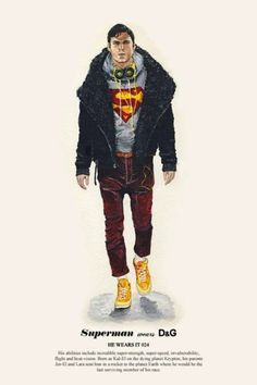 #superman wears #D
