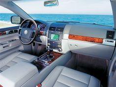 Interior Volkswagen Touareg V10 TDI '2002–07
