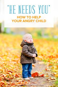 Dealing with an angry child can be difficult, especially when it's so easy to lose our tempers as well. Here are strategies to help you handle it.