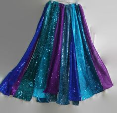 Glitzy sequin skirt patchwork skirt sequin metallic dress gypsy skirt plus size clothing maxi skirt hippie skirt boho skirt belly dancing by WindyMountainDesigns on Etsy