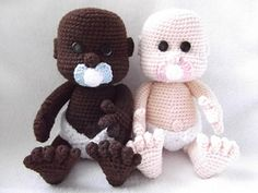 This is my pattern for an adorable little baby.