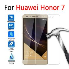 Screen Protector For Huawei Honor 7 Case Tempered Glass For Huawei Honor 7 Glass Film Protective Premium Cover Anti-Explosion