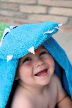 DIY Hooded Towel DIY Dragon Hooded Towel DIY Hooded Towel