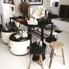 Beautiful day at the Vaucluse studio. Limited number of workers stools left. Black, white and natural available. View by appointment www.lumuinteriors.com  P:0427427752
