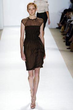 J. Mendel Spring 2006 Ready-to-Wear Fashion Show - Freja Beha Erichsen