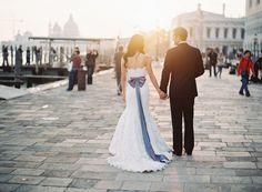 deborah + andrew | romantic wedding in venice, italy