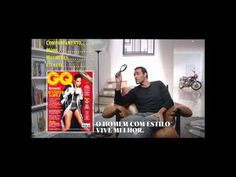 GQ-BR Magazien Ad, Ex-Maguila: Pronúncia. Funny2!
