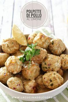 Italian Meat Dishes, Italian Meats, Pollo Light, Chicken Meatballs, Best Dinner Recipes, Lemon Chicken, Family Meals, Potato Salad, Chicken Recipes
