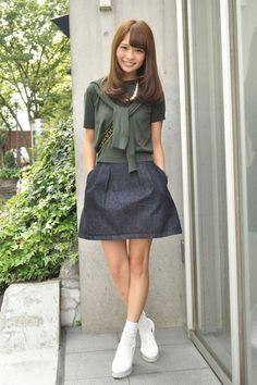 鈴木凪沙さんのストリートスナップ(2014-09-23)。最新のファッションは「注目GIRL」でチェック 3ページ目