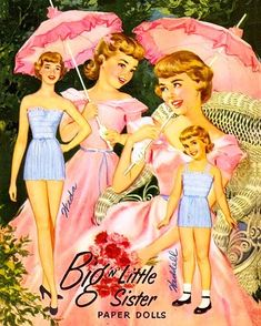 paper dolls I had this set.