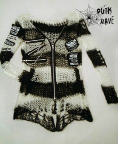 Unisex+Visual+Kei+Punk+Gothic+lolita+Japan+fashion+rock+shirt+Sweater+top+w. Rock Shirts, Pretty Outfits, Cool Outfits, Fashion Outfits, Fashion 2017, Fashion Boots, Gothic Outfits, Grunge Outfits, Visual Kei