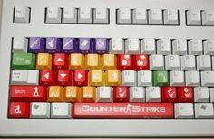 Counter Strike keyboard