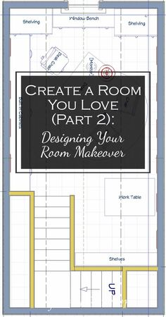 Create A Room You Love, Part 2: Designing Your Room Makeover | Want to re-do a room but need some help designing your room makeover? Use this free workbook to learn how to create a room you love. http://www.fromh2h.com/designing-your-room-makeover/