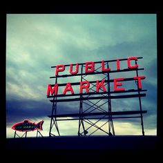 Seattle- Pike's Place Market- One of my favorite cities...