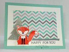 Foxy Friends stamp set #stampinup www.stampcrazywithalison.ca