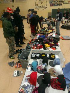 Kick back sneaker convention