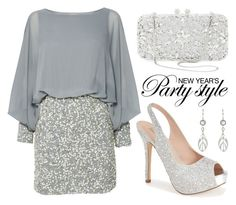 """""""New Year's Eve"""" by boxthoughts ❤ liked on Polyvore featuring Lace & Beads, Lauren Lorraine and Natasha Couture"""