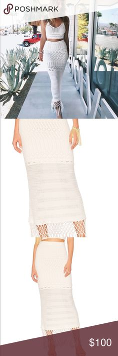 House of Harlow Revolve Sandra Skirt Sold out, only worn once House of Harlow 1960 Skirts Maxi