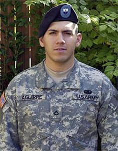 Army Spc. Nathaniel A. Aguirre  Died October 22, 2006 Serving During Operation Iraqi Freedom  21, of Carrollton, Texas; assigned to 1st Battalion, 22nd Infantry Regiment, 2nd Brigade Combat Team, 4th Infantry Division, Fort Hood, Texas; died Oct. 22 of injuries sustained when his patrol came in contact with enemy forces in Baghdad.