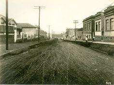 Perdizes, pavimentação da rua Turiassu, 20-07-1921, São Paulo, Brasil - extraído de http://www.arquiamigos.org.br