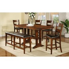 Loon Peak Agatha Counter Height Extendable Dining Table $551?