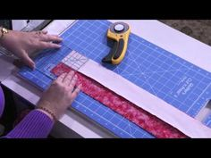 Create strip pieced four patch units with ease after watching this free video tip by professional quilter and Craftsy instructor Kimberly Einmo. Visit the Craftsy blog to learn how! Click: http://www.craftsy.com/ext/20130219_14_Quilting_2b