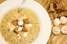 Mushroom Soup | Slender Kitchen