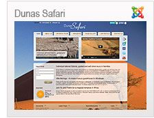Dunas Safari is a Namibian tour operator with emphasis on individual tailored safaris, guided and self-drive tours and travel arrangements for our clients.  http://www.dunas-safari.com/