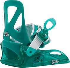 Burton  Boys Grom Snowboard Bindings 2017 Sea Glass Green XS *** Read more reviews of the product by visiting the link on the image. (This is an affiliate link) #SnowboardBindings