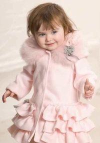 Not handmade ... but good idea to think about - Kate Mack Polar Fleece Jacket