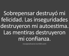 〽️ Me destruyeron...