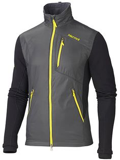 Ushering in the new world order of active insulation, here's to the Alpha Pro Jacket. We stuffed the state-of-the-art Polartec® Alpha® insulation in the front and the back of this jacket and constructed the sleeves with Polartec® Power Stretch and side panels with Polartec® High Efficiency. The result is a hybrid of the incredible warmth of insulation and the functional mobility of a softshell.