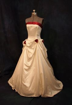 Ecofriendly sustainable ecochic wedding dress by ConsciousElegance, $951.00