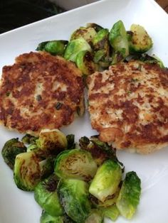 Phase 2 hCG Diet Recipe - Shrimp & Crab Burgers