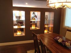 Big Brothers & Sisters Lottery Show Home 2015 Liquor Cabinet, Big Brothers, Dining Room, Fireplaces, Dream Homes, Storage, North America, Sisters, Furniture