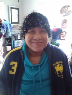 AWE!Some #Crochet by Gina Renay #hat #smile #customer
