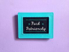 F*ck Patriarchy Cross Stitch