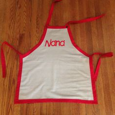 Apron for Nana who has 2 little boys