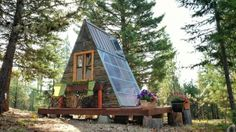 $700 Micro A-frame Cabin Built in 3 Weeks