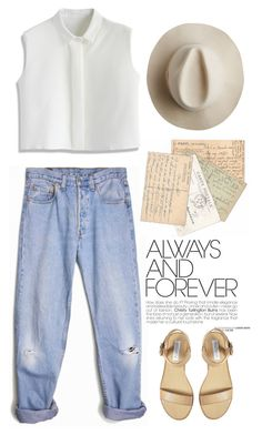"""Letters."" by mplusk ❤ liked on Polyvore featuring moda, Levi's, Artesano, Chicwish, Steve Madden, women's clothing, women, female, woman y misses"