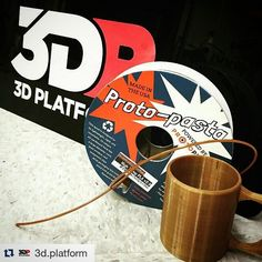 Something we liked from Instagram! #3dprint w/ #proto_pasta #aromatic #coffee #pla & have an #invigorating  start to the week like our #friends at @3d.platform  #filament #3dprinted #mug #3d #3dprinting #3dprints #3dprinter by proto_pasta check us out: http://bit.ly/1KyLetq