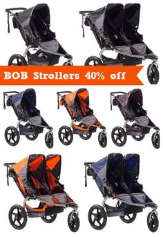 BOB Stroller Deals - best price they've been. Single and Duallie Strollers