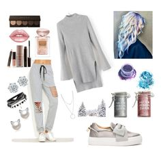 """""""Famous"""" by k-atherine-queen on Polyvore featuring BUSCEMI, Laura Mercier, Lime Crime, Major Moonshine, In Your Dreams, Giorgio Armani and Botkier"""