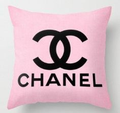 Chanel pink pillow