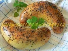 Kváskové loupáky Bread And Pastries, Bagel, Desserts, Food, Basket, Meal, Deserts, Essen, Hoods
