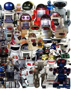 Mega Collection of OLD ROBOTS!