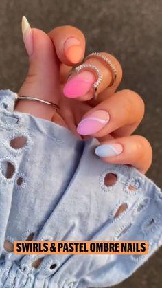 Nail Art Designs Videos, Fall Nail Art Designs, Nail Art Videos, Ambre Nails, Airbrush Nails, Nail Repair, Dream Nails, Glitter Nail Art, Nails Inspiration
