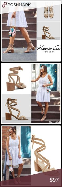 "JUST IN🌷VICTORIA SUEDE LACE-UP SANDALS Wrapped block heel lifts a trend-right suede sandal topped with crisscrossing toe straps and leg-flattering wraparound ankle ties for a chic update to your warm-weather wardrobe ▪️Stacked heel 2.75"" ▪️Suede upper ▪️Open toe ▪️Lace-up ankle straps ▪️Leather lining ▪️Man-made sole ▪️Lightly padded insole  🛍 2+ BUNDLE=SAVE  🚫TRADE  💯 Brand Authentic  ✈️ Ship Same Day--Purchase By 2PM PST  🖲 USE BLUE OFFER BUTTON TO NEGOTIATE   ✔️ Ask Questions Not…"